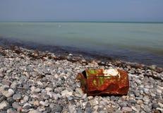 Giftig afval stock foto