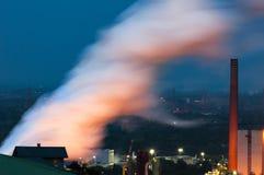 Giftige Emissionen Lizenzfreie Stockbilder