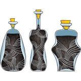 Giftige flessen vector illustratie