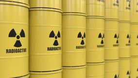 Giftiger Abfallstoff stock video footage