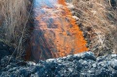 Giftiges Wasser Lizenzfreie Stockfotografie