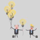 Gifting μεγάλες ιδέες επιχειρηματιών Στοκ εικόνες με δικαίωμα ελεύθερης χρήσης