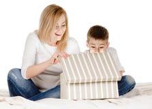 Gifting box Royalty Free Stock Image