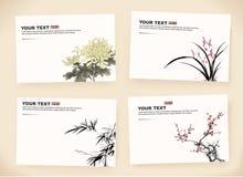 Giftkaarten royalty-vrije illustratie