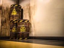Giftlig avfalls Arkivbild