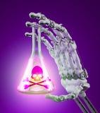 Giftliga kemikalieer royaltyfri illustrationer