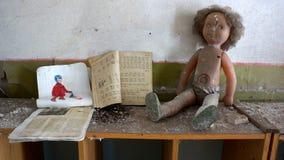 Giftliga leksaker Arkivbild