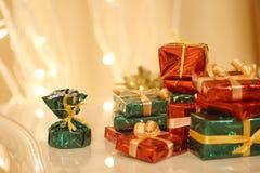 Gifts stock photos