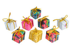 Gifts. Gift isolated on white background stock photo