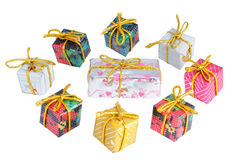 Gifts. Gift isolated on white background royalty free stock image