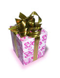 Gifts. Isolated object. gifts; wrappings; box; paper; birthday; holiday Stock Image