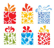 Gifts for all holidays Royalty Free Stock Photos