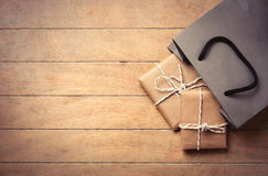 Free Gifts And Bag Stock Image - 86428081