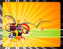 Gifts Backgrounds Illustration Royalty Free Stock Photography