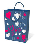 Gifts bag. Everything for your design. vector Royalty Free Stock Photos
