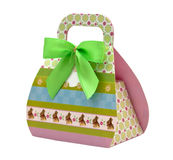 Gifts bag Royalty Free Stock Photo