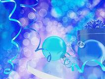 Gifts and baubles Royalty Free Stock Photos