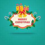 Gifts and bells Royalty Free Stock Photos