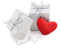 Gifts beloved. Royalty Free Stock Photos