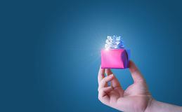 Gifts and bonuses from the business. Gifts and bonuses from the business concept design Stock Photo