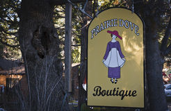 Gifts and boutique, Idyllwild, California Stock Images