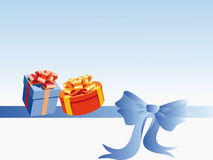 Gifts on the bow Royalty Free Stock Photography