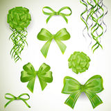 Gifts Bows with Ribbons Royalty Free Stock Images