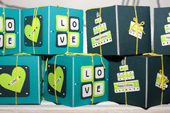 Gifts box. Royalty Free Stock Photography