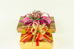 Gifts box Royalty Free Stock Images