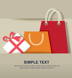 Gifts box paper icon Royalty Free Stock Photos