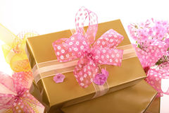 Gifts boxes Stock Photography