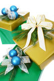 Gifts boxes Stock Images