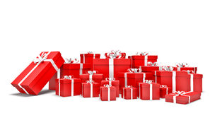 Gifts boxes Royalty Free Stock Image