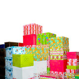 Gifts bunch Royalty Free Stock Images