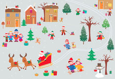 Gifts for children Royalty Free Stock Image
