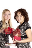 Gifts for Christmas Royalty Free Stock Images