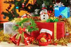 Gifts for Christmas. Stock Images