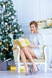 Gifts on christmas Royalty Free Stock Photo