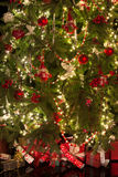Gifts and christmas decorations Stock Images