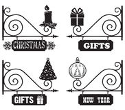 Gifts for Christmas and New Year Stock Photos