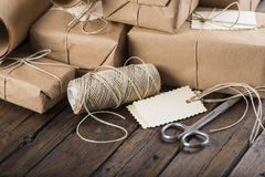 Gifts for Christmas and other celebrations and events Royalty Free Stock Photo