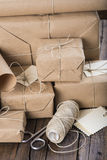 Gifts for Christmas and other celebrations and events Stock Images