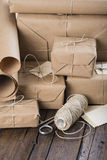 Gifts for Christmas and other celebrations and events Royalty Free Stock Photos