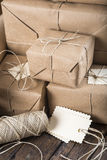 Gifts for Christmas and other celebrations and events Stock Photos