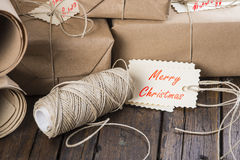 Gifts for Christmas and other celebrations and events Royalty Free Stock Photography