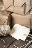Gifts for Christmas and other celebrations and events Stock Image