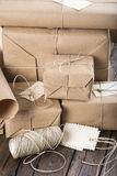 Gifts for Christmas and other celebrations and events Royalty Free Stock Image