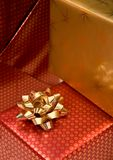 Gifts close up Royalty Free Stock Photo