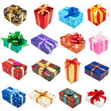 Gifts collection Stock Photography