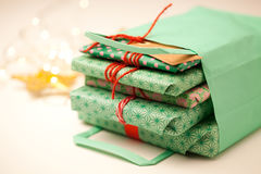 Gifts and decorations Royalty Free Stock Photo
